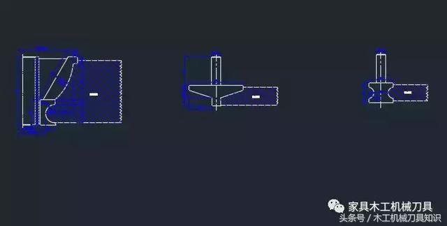 65个木工刀具CAD设计图纸,立轴铣刀和镂铣刀张灯结彩字体设计图片