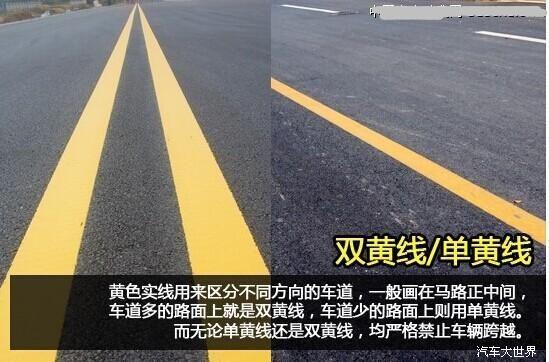 2018道路交通标线大全及图解【最详版】