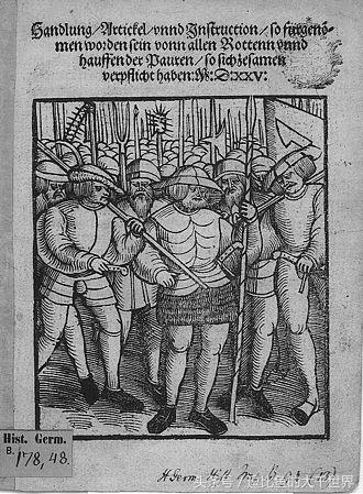 五千名起义者集体壮烈,闵采尔头部受伤,被俘虏了!