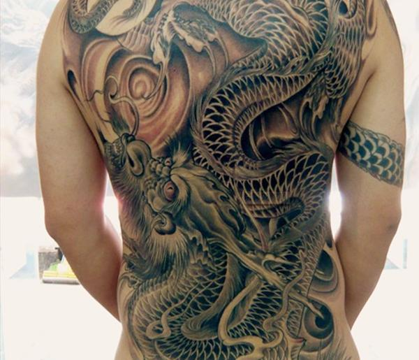 古惑仔里陈浩南的纹身有什么讲究?纹身不要乱纹