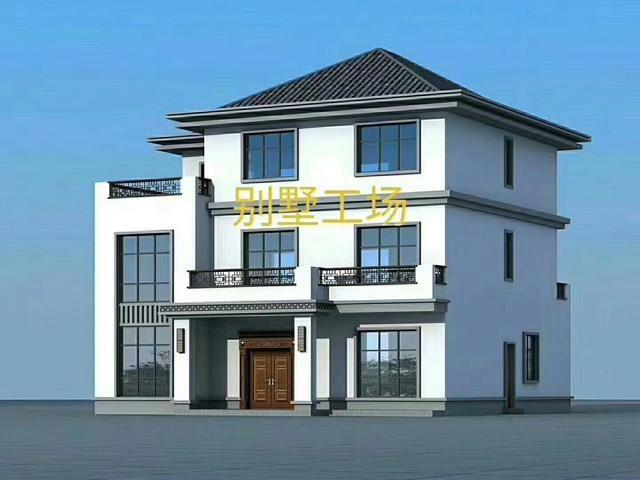 6款新中式别墅图纸,低调上档次,有品味的人都这么建
