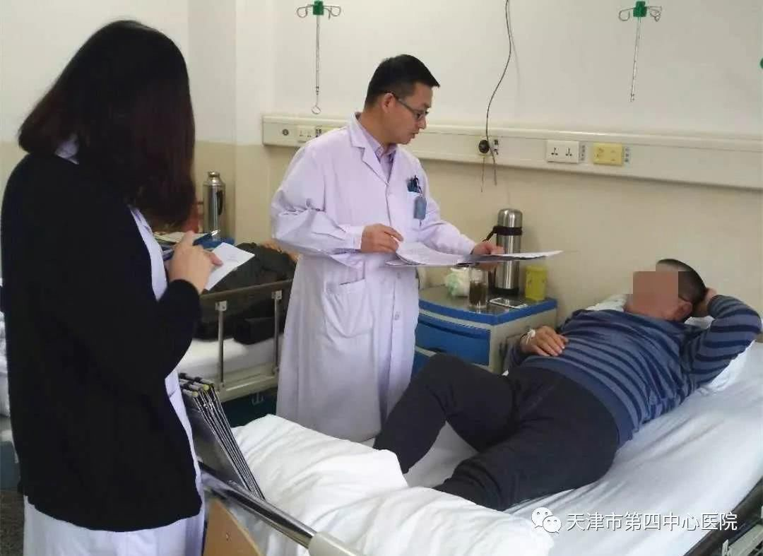 天津市第四中心医院承担神经病急性病区绘制着顺序卒中中心医院脑梗二次接线端子介入学科图片