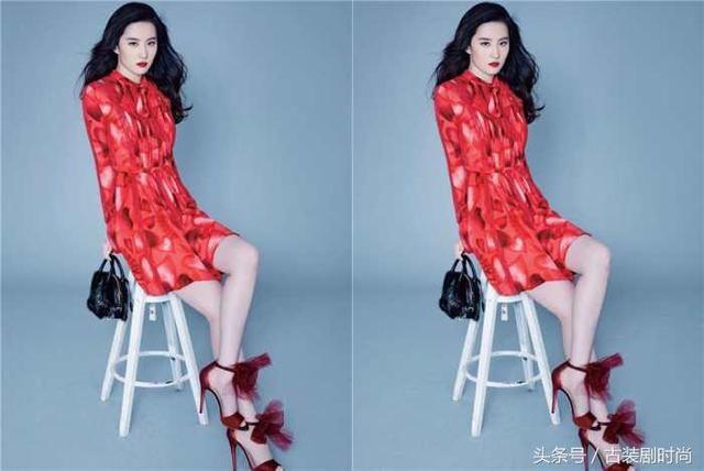 30岁刘亦菲撞上30岁韩星朴河宣, 网友: 仙女脸和微笑脸一目了然