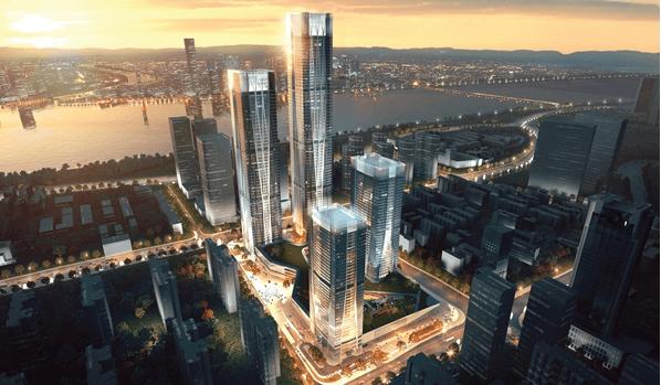 长沙ifs大厦投资额67亿人民币.地上楼层95层;建筑面积约30万平方米.