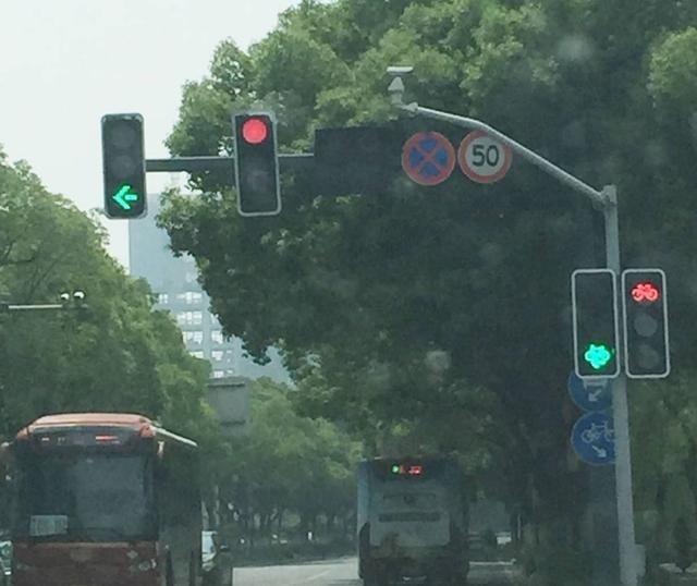 遇到圆形红绿灯时能不能右转?听老司机一说,真后悔没早知道