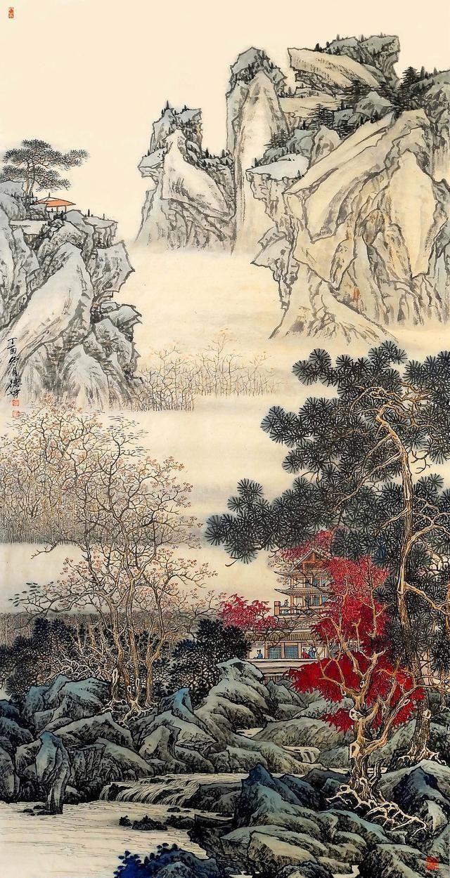 写滁州醉翁亭的秀丽,自然风光和对民房之乐的叙述,用法出一幅太守与酒店球图游人勾勒情趣图片