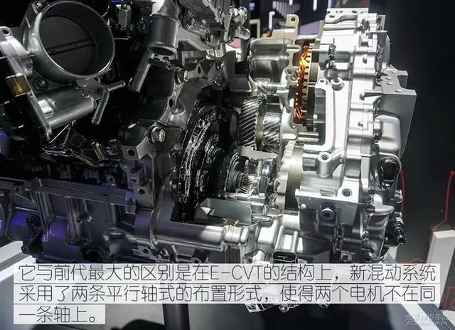 全新第八代凯美瑞混动版车型上所搭载时丰田第四代普锐斯所使用的那款