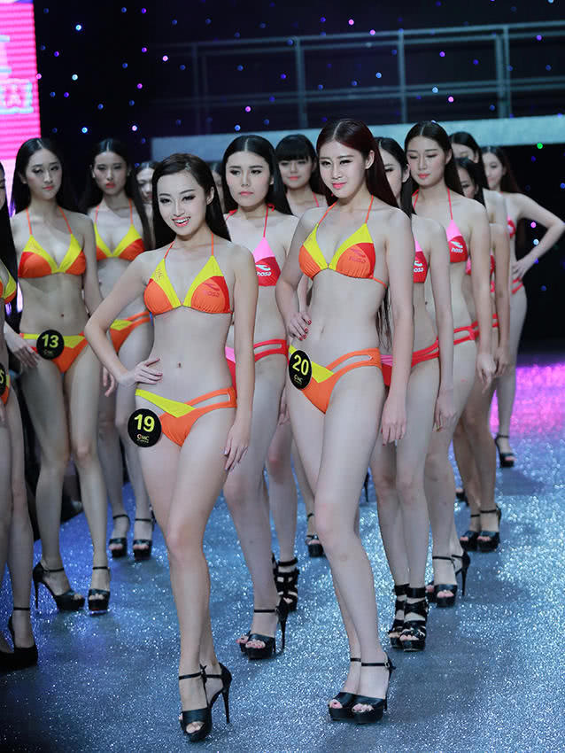实拍世界比基尼模特大赛 中国赛区的性感美女模特们 美不胜收 非常