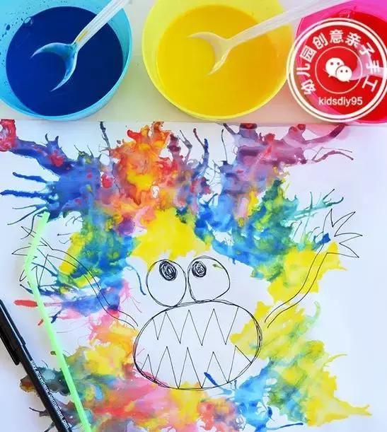 2018最top的幼儿园美术创意手工,让孩子的艺术力100分