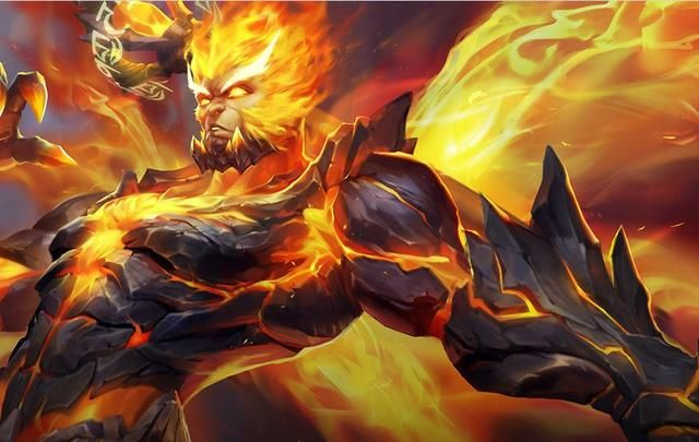 王者榮耀猴子地獄火為什么會沒有特效圖片