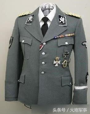镜头下:二战中被最多人认为好看的军装,从中看出二战德国人严谨
