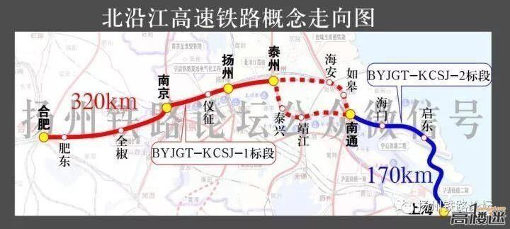 对安徽来说比沪汉蓉长了近200公里的北沿江高铁可以不