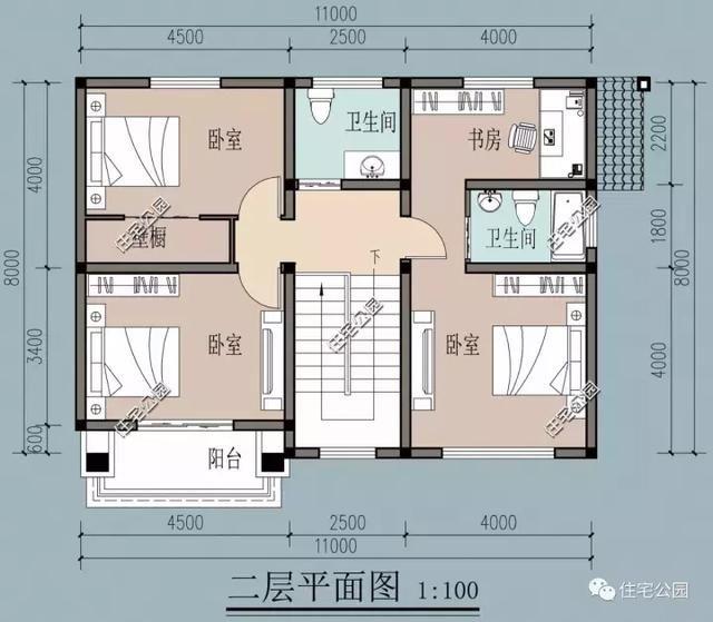 一層設有:1臥室,1客廳,1餐廳,1廚房,1雜物間,1柴火房,1洗手間,1衛生