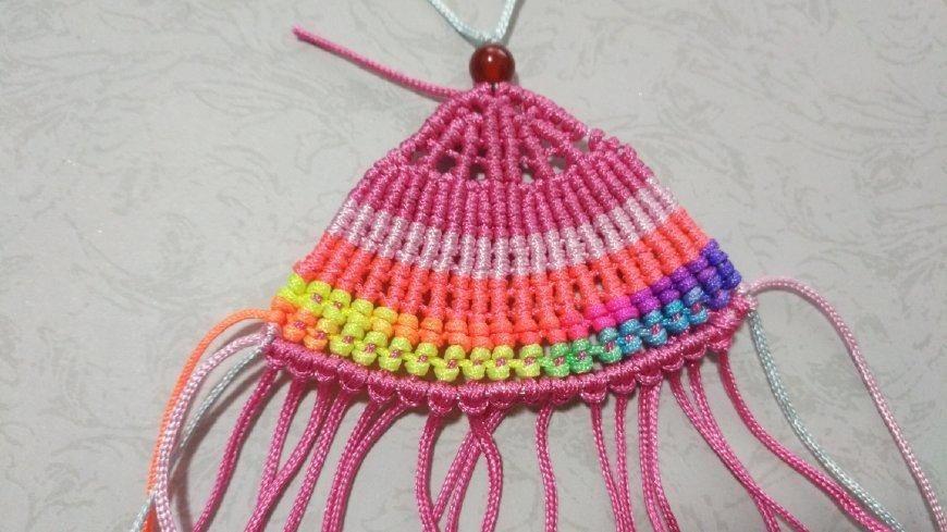 手工编绳,如意小扇子吊坠挂件,好漂亮学起来