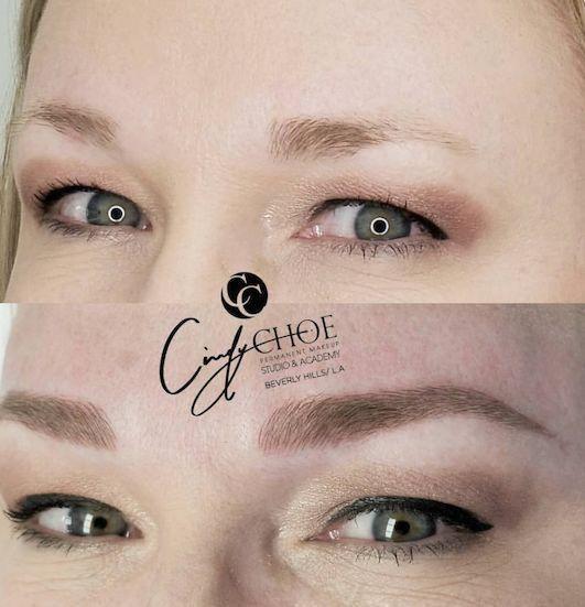 其实比起普通的平眉,和欧式挑眉,柳叶眉是最适合中国人的气质和脸型的图片