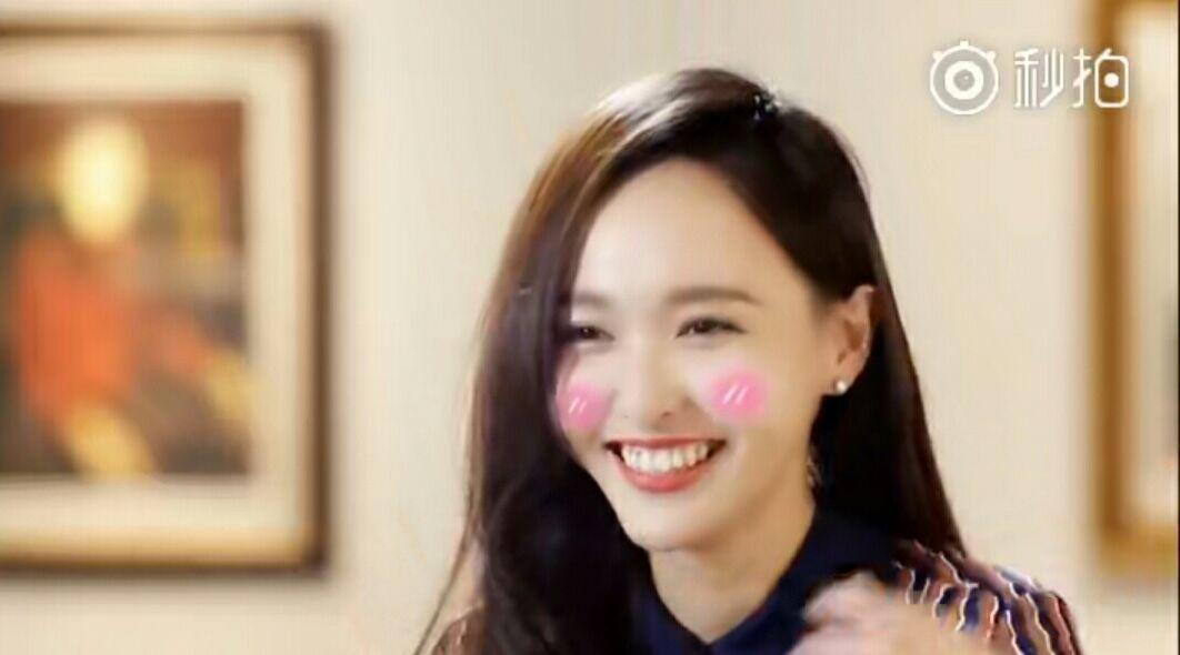 [唐嫣][分享]170630 粉丝们为唐嫣制作害羞捂脸合集 被美糖萌翻了!