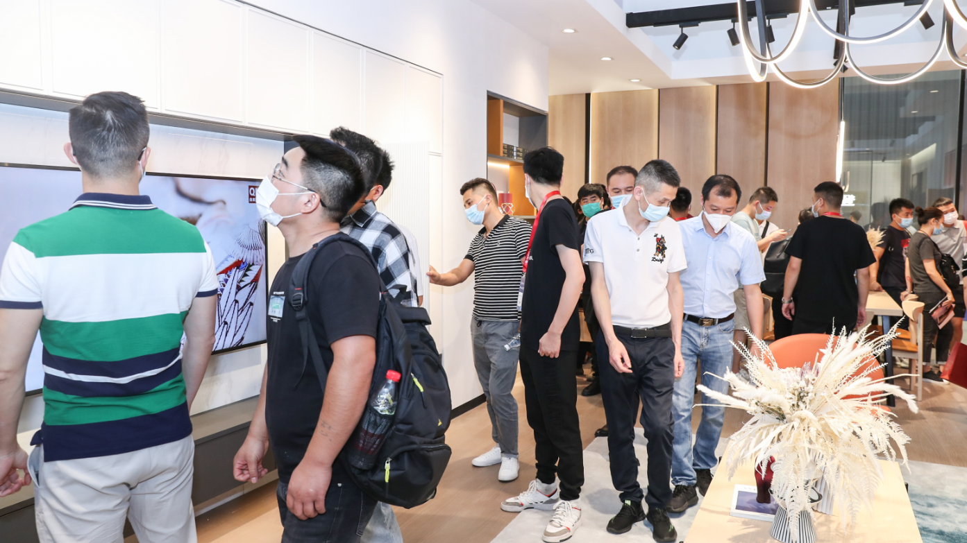 线下新品发布+线上直播带货 北京这家品牌家居企业燃爆了中国建博会!