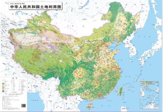 国土资源部:我国首套三维立体土地利用图出版-北京时间
