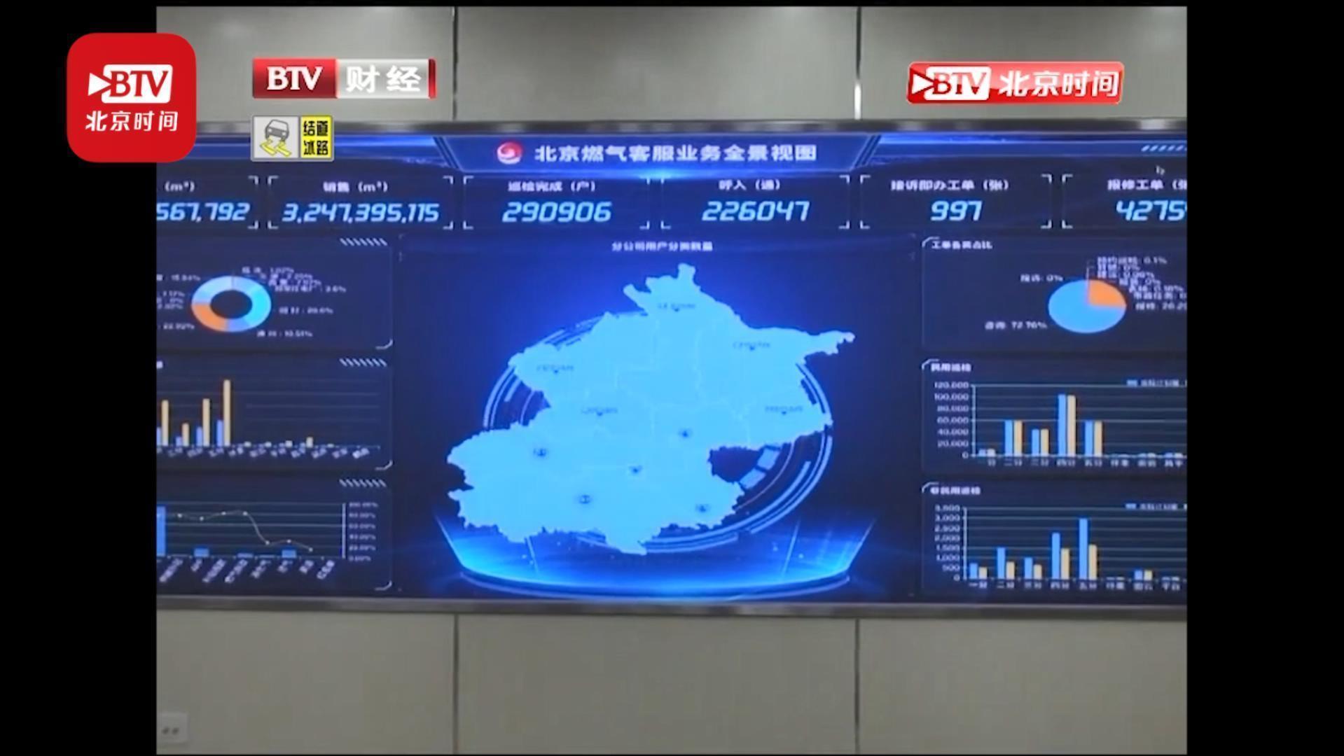 真正接地气的服务 北京燃气为特殊用户送卡上门