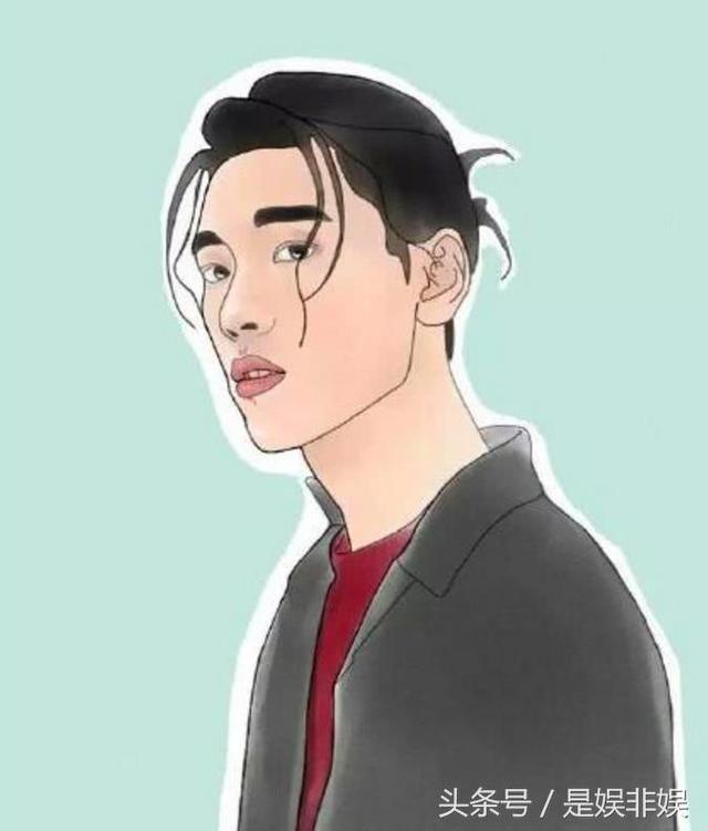 蔡徐坤手绘图_蔡徐坤手绘动漫图