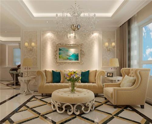 宝鸡装修:小户型欧式风格装修图片,尽显浪漫奢华的小二居设计!