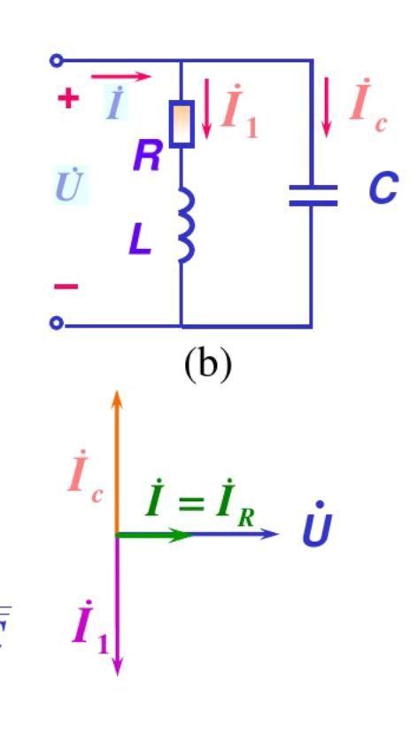 二,lc并联谐振电路lc并联电路(同串联谐振电路一样,lc并联谐振是其特