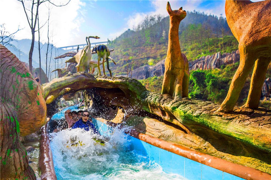 贵州九仙旅游区距离黄果树瀑布半小时车程,距离沪昆高铁关岭站6公里