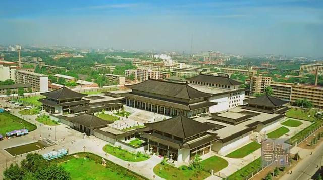 西安大明宫丹凤门遗址博物馆,黄帝陵祭祀大殿,西安钟鼓楼广场等重要