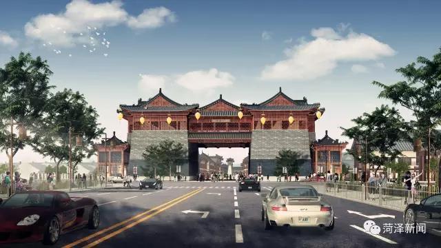 菏泽:鄄城打造汉代古城!占地1000多亩!集影视拍摄旅游图片