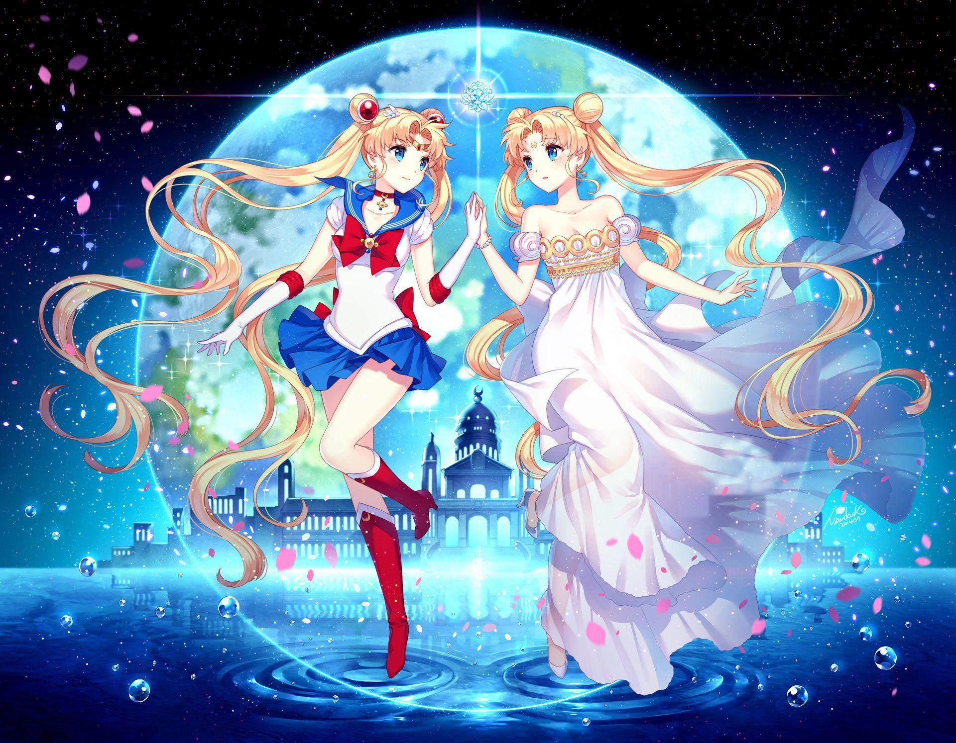 日本动漫《美女生战士》高清壁纸图片少女家境良好的图片