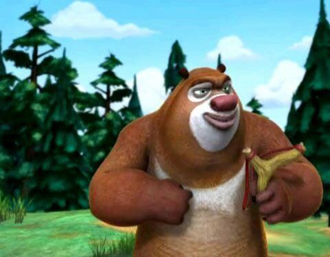 动漫《熊出没》动画片超可爱图片欣赏图集