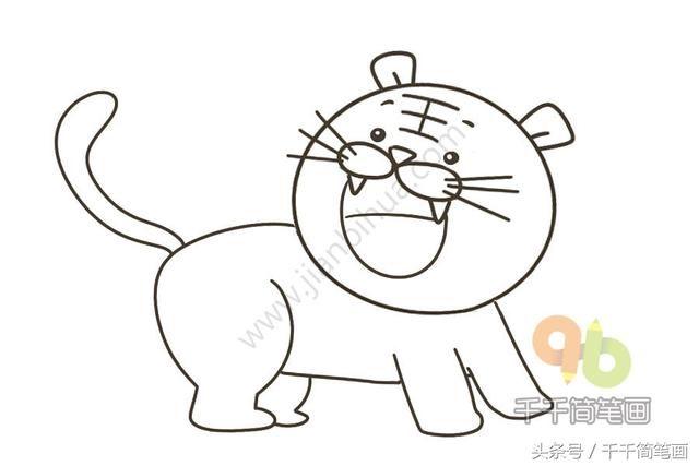 画画大全画简单动物_动物画画大全简单