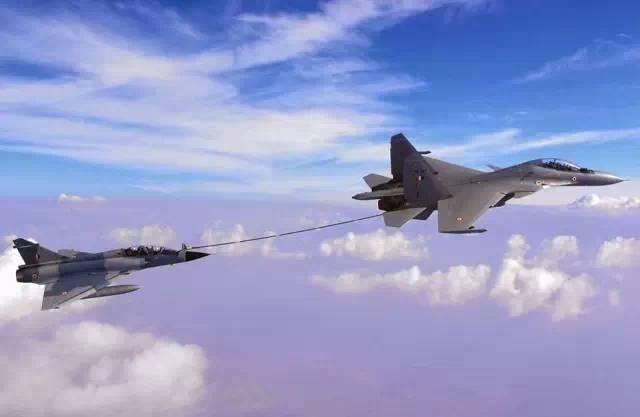 资料图:印度空军苏30战斗机图片