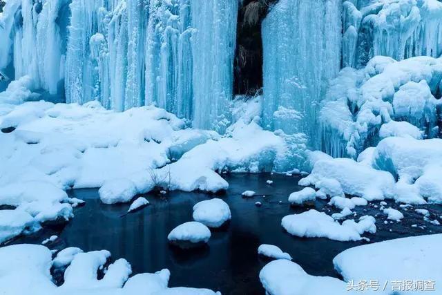 """如果说""""千里冰封,万里雪飘""""是北国冬天的真实写照,那么望天鹅的冬季"""