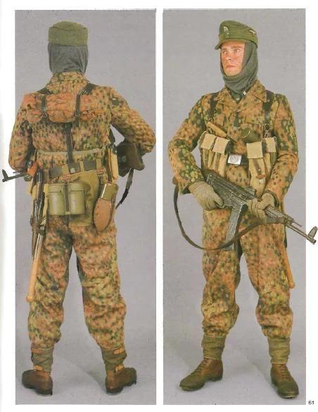 二战德国陆军军装以及单兵装备大全