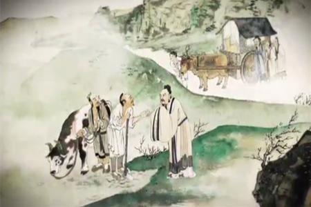 子路与孔子_子路问路,那两位农夫不理睬他,孔子便很理智的回答那两个人!