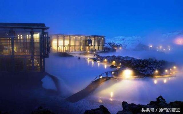 """时尚欧美建筑,蓝色泻湖,冰岛一个梦幻的""""地热温泉"""", 美轮美奂"""