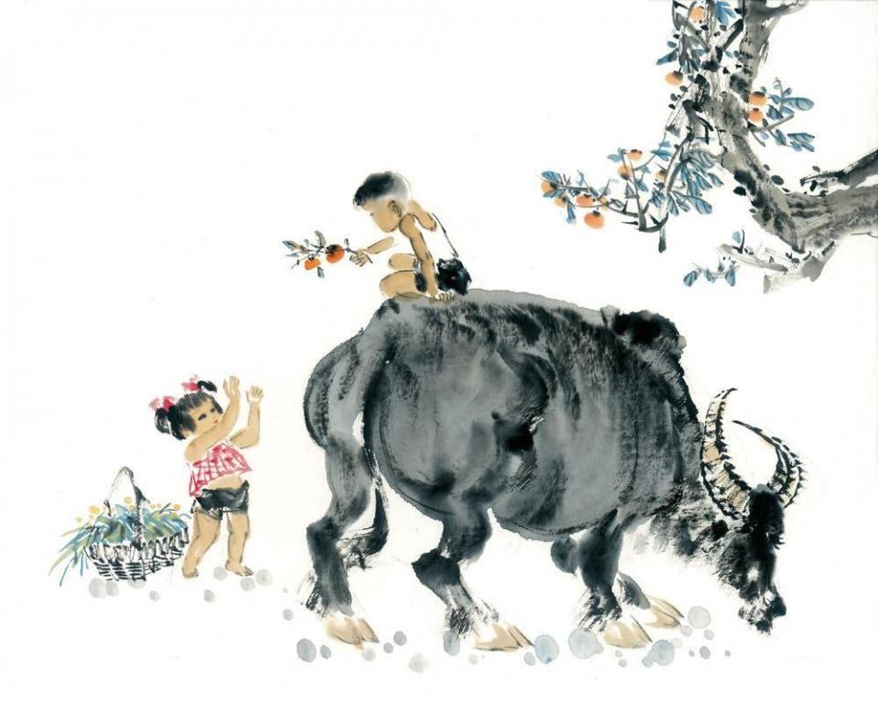 老牛图片全集_老牛与牧童作文我要四百字.你能把文字发过来吗?