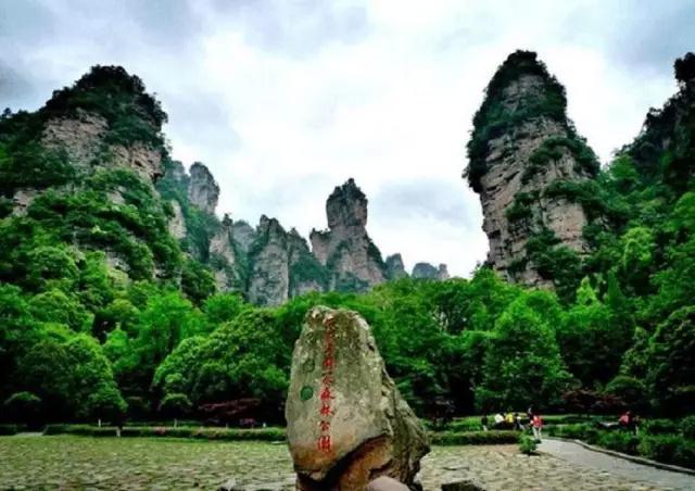 主要景区景点有: 张家界国家森林公园,金鞭溪 ▽ 百龙天梯:世界上最高