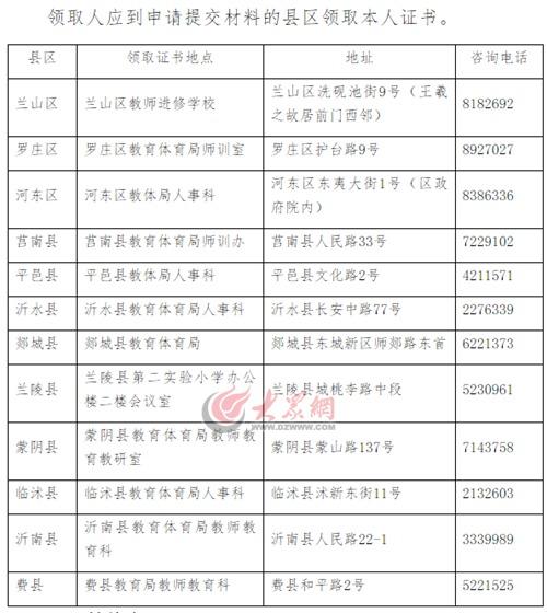 2017年临沂市中小学教师资格证书27日可兴学领取太原市华街第二小图片