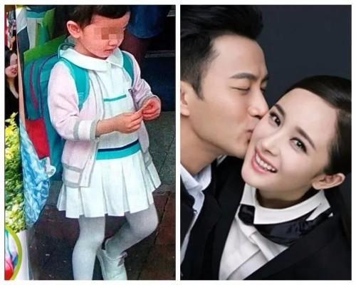 杨幂女儿小糯米的容颜再次被曝光,这么可爱,刘恺威以后得哭了
