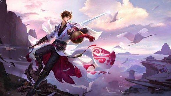 王者荣耀李白凤求凰高清图片