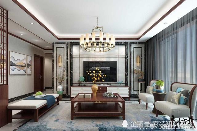 4,客廳背景墻顏色和圖案搭配