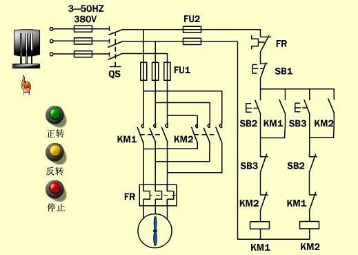 电工之路从接触器的自锁互锁开始,跟着大表哥come on
