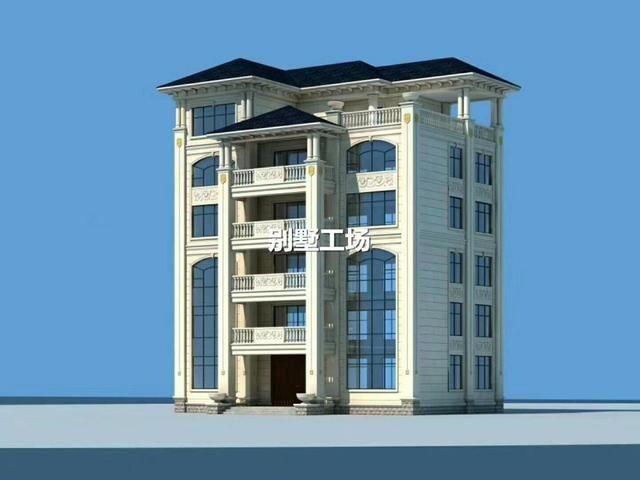 6款农村自建别墅图纸,2层16万可建,大露台是标配