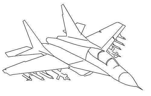 十款经典战机简笔画,你能猜出几架的型号?答对也没奖哦「原创」