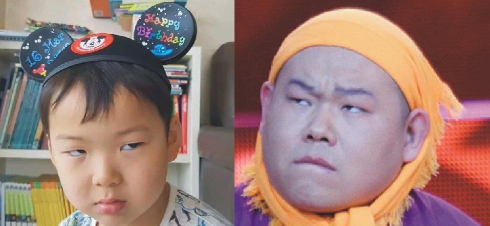 图片宋民国表情,长成了岳云鹏,简直太像,近照严肃滑稽的表情网友图片
