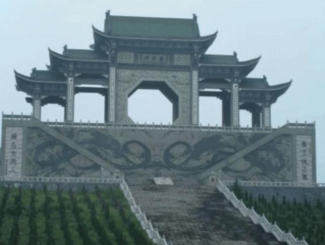商朝建筑手绘图