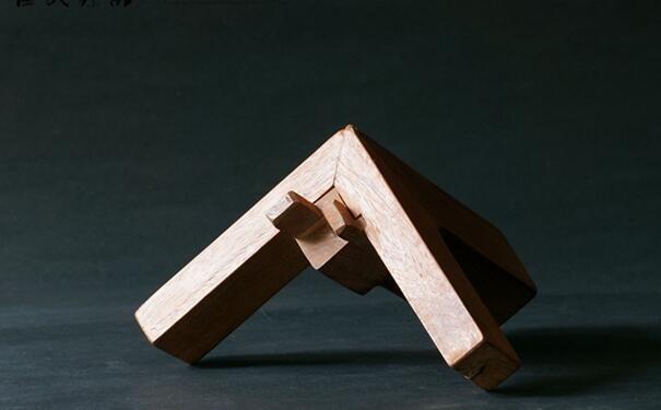 红木家具安装榫卯结构图解:直角明榫和直角暗榫