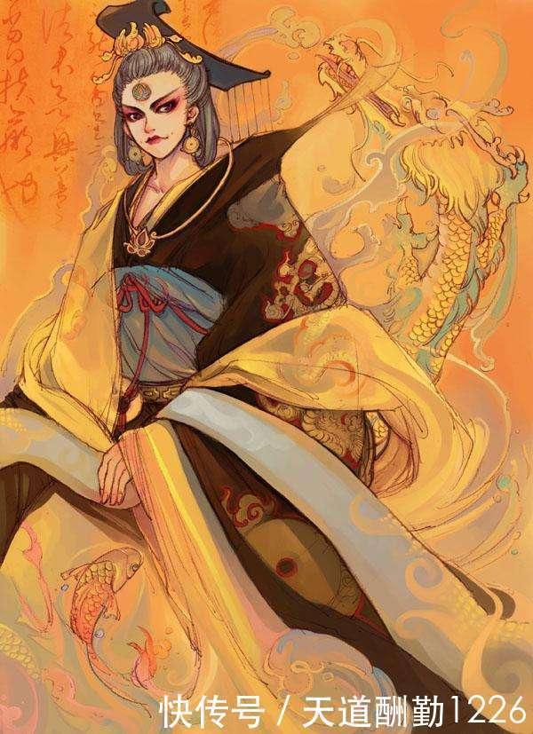 第二名:妖界護法大神--妖皇裂天.此人極為神秘,他的絕招是太乙不滅.圖片